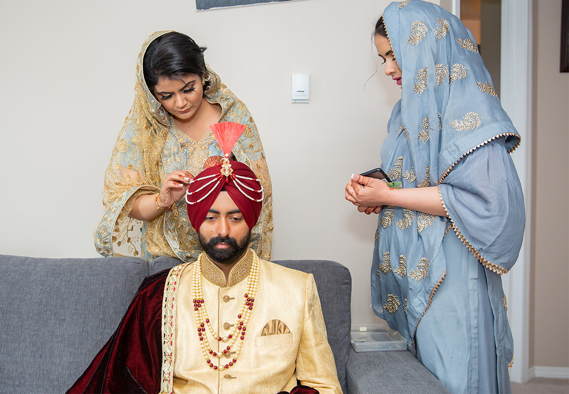 tradition for Indian Wedding